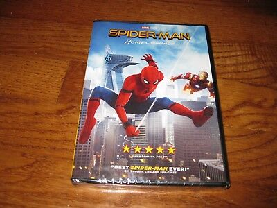 Spider-Man: Homecoming:Marvel Superhero (DVD 2017) NEW Y-Folded Sealed Fast Ship