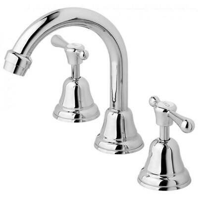 New Phoenix Tapware Rhapsody RL100 CHR Gooseneck Bathroom Basin Set Chrome