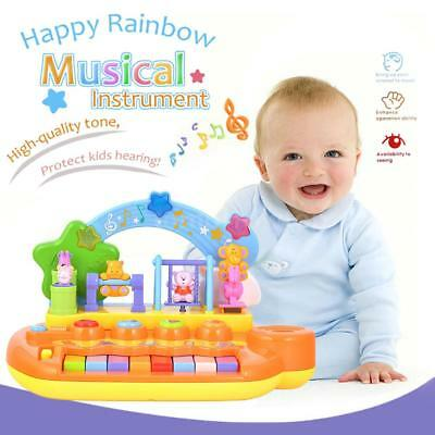 GOODWAY Smart Animal Farm Piano Musical Keyboard Early Educational Toy Kids T8S5