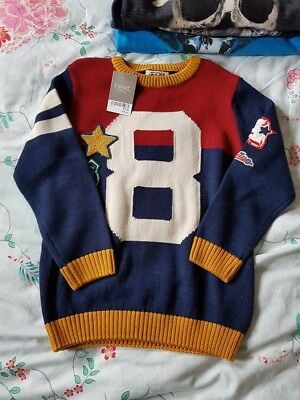 boys new jumper from next 5/6 years