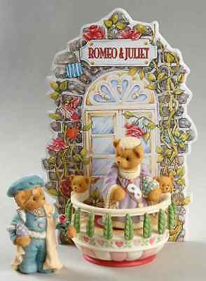 Enesco CHERISHED TEDDIES SWEET HEART BALL FIGURINE Romeo & Juliet 1801060