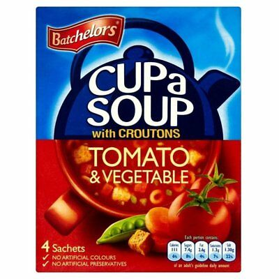 Batchelors Cup A Soup with Croutons Tomato & Vegetable