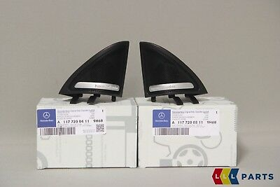 New Genuine Mercedes Benz Mb Cla Class W117 Harman Kardon Tweeter Cover Pair L+R