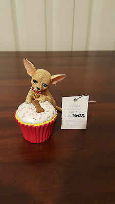 """Cherished Chihuahua's Collection """"The Icing on my Cake Figurine"""""""