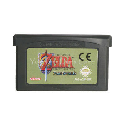 The Legend of Zelda Nintendo Link the Past and Four Swords GBA Game Boy Advance