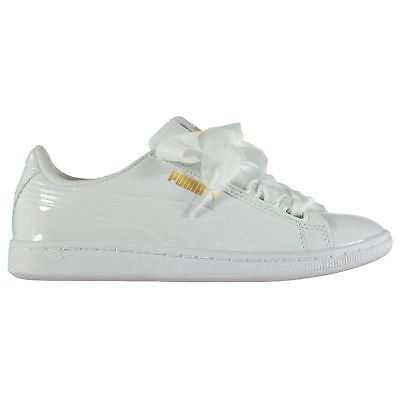 453ae250403 Puma Vikky Ribbon Sneakers Ladies Court Padded Ankle Collar Everyday  Comfortable