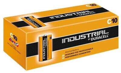 10x Duracell Industrial MN1400 Baby LR14 C