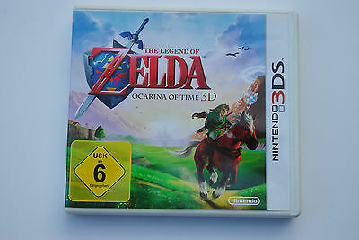 The Legend of Zelda Ocarina of Time 3D Leerbox Nintendo 3DS