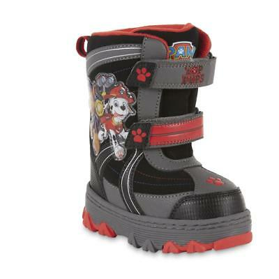 NEW NWT Toddler Boys Nickelodeon Paw Patrol Snow Boots Size 7 8 9 10 11 or 12