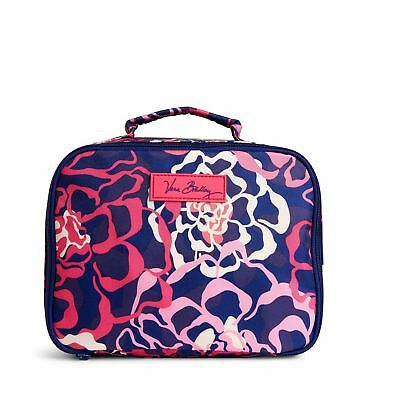 Vera Bradley Factory Exclusive Lighten Up Lunch Mate Lunch Bag in Katalina Pink