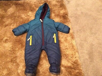 Baby Baker Ted Baker Boys Snowsuit 0-3 Months Mint Condition Early Worn