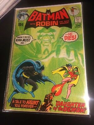 Batman 232 first appearance of Ra's A Ghul