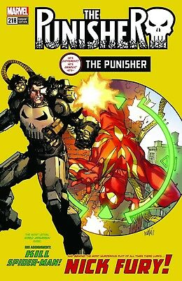Punisher 218 Leinil Yu Amazing Spiderman 129 Homage Variant Nm