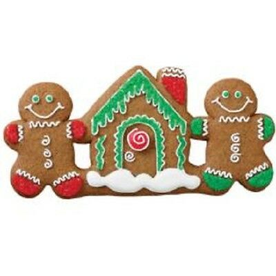 Christmas Cookie Cutters - Reindeer Candy Cane Snowman Angel Menorah Bell Holly
