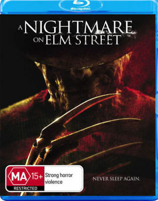 A Nightmare on Elm Street  - Blu-ray - Rooney Mara - Horror - NEW Sealed D183