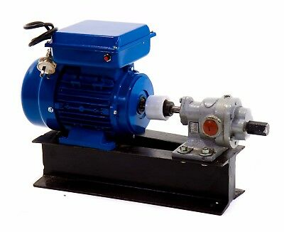 "Heavy Duty Gear Pump for Oils & Diesel - 1"" - 240 Volt"