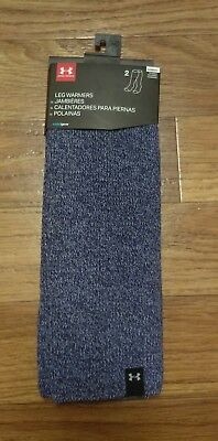 Under Armour Womens Essentials Leg Warmers Faded Ink/Wild Aster one size