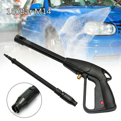 160 Bar M14 High Pressure Washer Lance Gun Trigger Heavy Duty Pressure Cleaner U