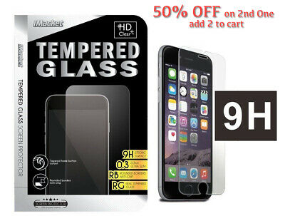 [3 Pack] Tempered Glass Screen Protector for iPhone XS MAX / 7 / 8 / Plus / X