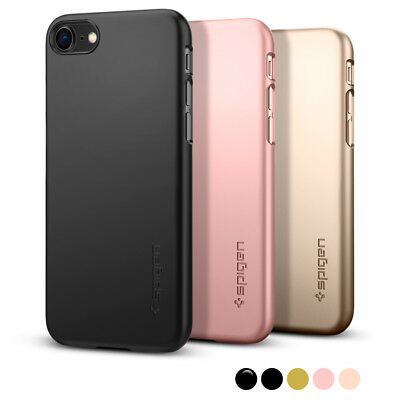 Apple iPhone 8 / 8 Plus / 7 / 7 Plus Case I Spigen® [Thin Fit] Ultra Slim Cover