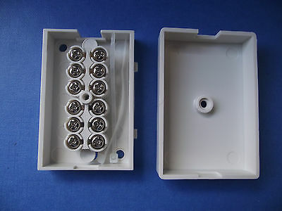 6 Terminal Telephone Or Alarm System And Models Connector Junction Box