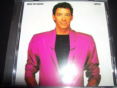 Boz Scaggs Hits Greatest Hits Best Of CD – Like New