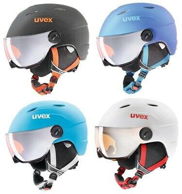 UVEX JUNIOR VISOR PRO Skihelm Snowboardhelm NEUE FARBEN Collection 2019 NEU !!!