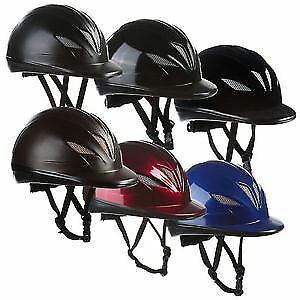 Belstar Mesh Adult Equestrian Bow Comfort Horse Riding Showing Padded Hat Helmet