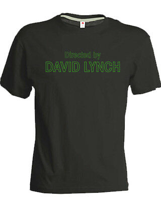 T-SHIRT David Lynch Directed by  uomo donna regista nera Twin Peaks regalo