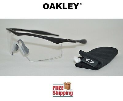 c278425ecf00 Oakley® Sunglasses Industrial M Frame Ansi Safety Approved Matte Black Clear