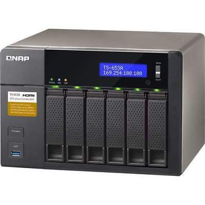 Qnap Ts-653A-4G/48Tb-Red Pro 6 Bay Nas   Free Delivery Brand New