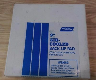 """Norton 9"""" Rubber Air-Cooled Back-up Pad"""