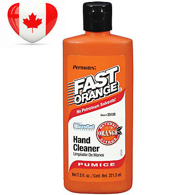Permatex 25108 Fast Orange Pumice Lotion Hand Cleaner, 7.5 oz.