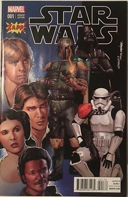 Star Wars 1 Vol 2 Rob Leifeld Zapp Color Variant Darth Vader Boba Fett Han Solo