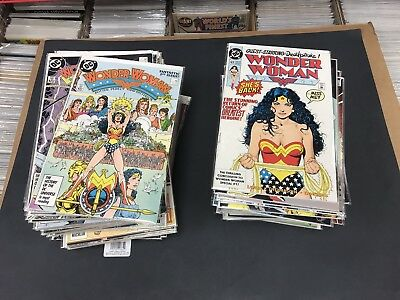 Wonder Woman 1987 1-100 + Ann. 1-4 + 4 Specials High Grade Brian Bolland!!!