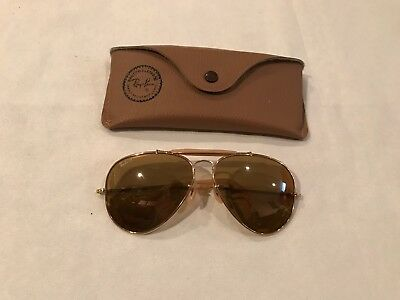 e27db1d8c59 Vtg Rare Ray-Ban The General 1937-1987 50th Anniversary Sunglasses Bausch  Lomb