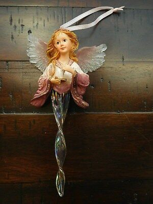 "NEW Boyds Charming Angel ""Alessandra"" Guardian of Hope Ornament #25105 - NIB"