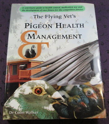 FREE Shipping Flying Vet's Pigeon Health & Management - Racing Pigeons Near-Mint