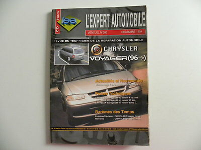 Revue technique automobile RTA CHRYSLER VOYAGER n°380
