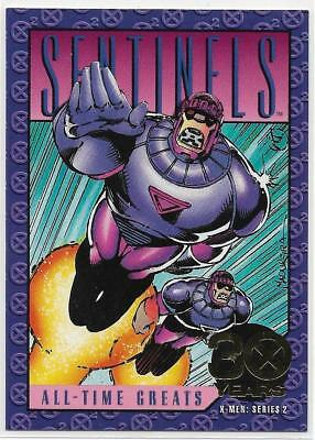 1993 Skybox Marvel X-Men Series 2 The Sentinels - Xaviers Files # G-7