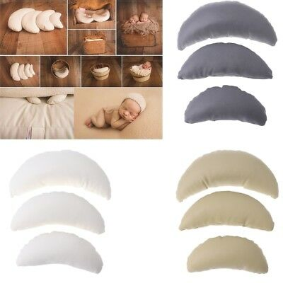 3Pcs Newborn Poser Pillows Photography Posing Beanbag Backdrop Photo Studio Prop
