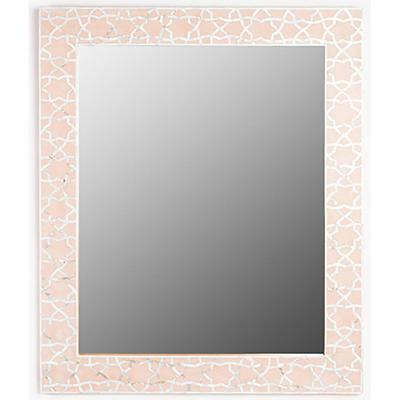NEW Temara Pale Pink Mother of Pearl Inlay Luxury Mirrors