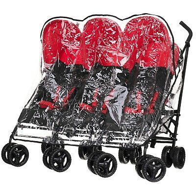 Obaby Raincover for Mercury Triple Pushchair/Stroller