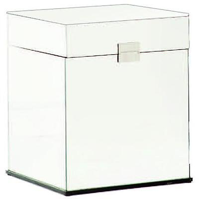 NEW Fontaine Side Table w/Hinged Lid Luxury Mirrors