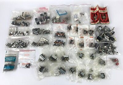 Lot of Over 50 Electrical Switches - New/Used - Dialight - Carling - Weltron