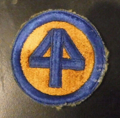 WW2 US Army 44th Infantry Division Military Patch Very Old