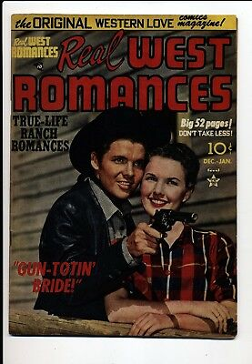 Real West Romances #5 Fn 1950