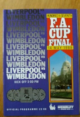 1988 FA Cup Final - Liverpool vs Wimbledon