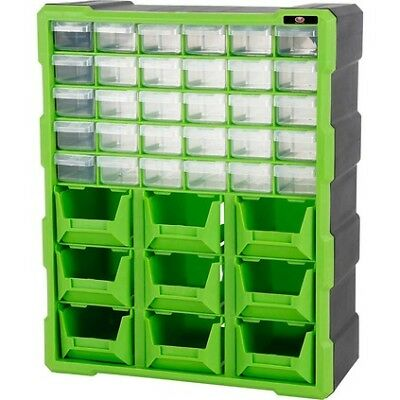 SCA Organiser - Green, 39 Drawer