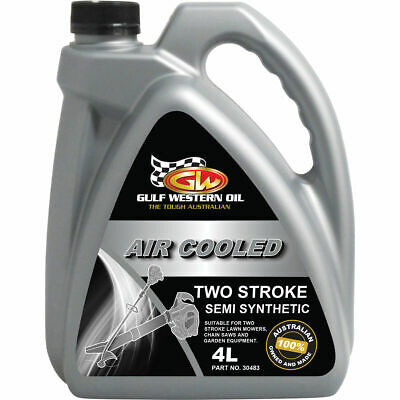 Gulf Western Air Cooled Two Stroke Oil - 4 Litre